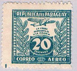Paraguay C65 MLH Yerba Mate 1931 (BP30813)