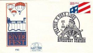 1990, Fulton's River Fest, Fulton, New York, Unaddressed (D7705)