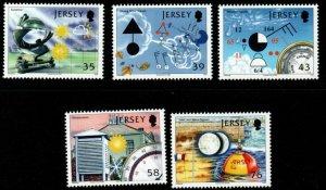 JERSEY SG1350/4 2008 300th ANNIV OF JERSEY SIGNAL STATION MNH