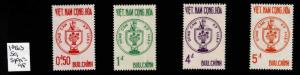 Republic of South Vietnam Scott 215-218 MNH** set
