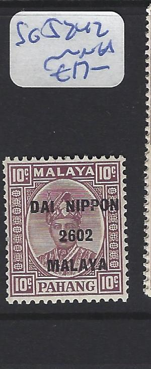 MALAYA JAPANESE OCCUPATION PAHANG  (P0108B)  10C DN   SG J242   MNH