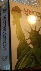 H.E.Harris - 2 Post 'Liberty Stamp Album' Binder in Super Shape - See Scan