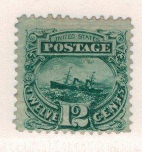 United States Stamp Scott #117, Unused, No Gum - Free U.S. Shipping, Free Wor...