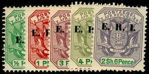 SOUTH AFRICA - Transvaal SG238-242, SET x 5, UNMOUNTED MINT. Cat £21.