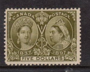 Canada #65 Mint Fine - Very Fine Full Original Gum Hinged