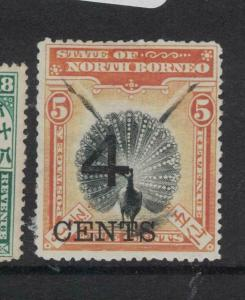 North Borneo SG 112 MOG (5dvp)
