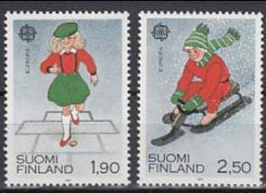 1989 Finland Scott 795-796 Europa MNH