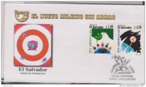 RO) 1990 EL SALVADOR, AMERICA UPAEP, THE NEW MILLENNIUM WITHOUT WEAPONS