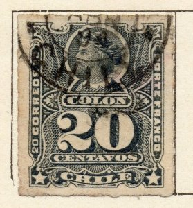 Chile 1881 Early Issue Fine Used 20c. NW-11405
