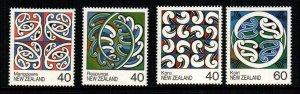 New Zealand  894 - 897  MNH $ 2.90 111