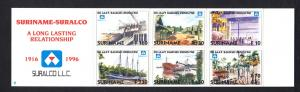 Surinam 1996 MNH Booklet bauxite industry