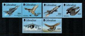 Gibraltar #812a-814a MNH  Scott $9.00   3 Pairs
