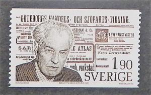 Sweden 1172. 1976 Segerstedt, editor, NH