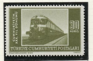 Turkey 1953 Early Issue Fine Mint Hinged 30k. NW-18188