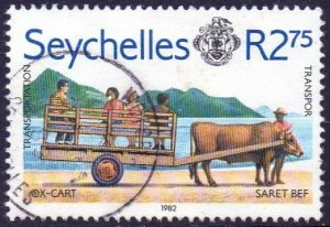 Seychelles 1982 2.75r Ox-cart used