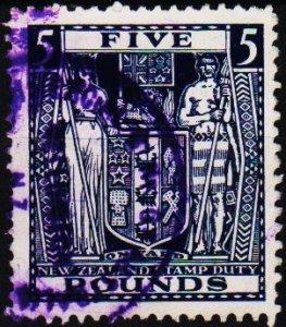 New Zealand. 1931 £5 S.G.F211w Fine Used