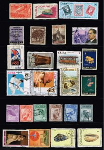 US STAMP CUBA STAMP COLLECTION LOT  #M2