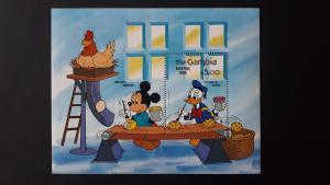 Disney - Gambia 1984. - Easter ** MNH Block