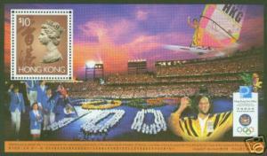 Hong Kong Scott 757 Olympic Sports MNH** sheet