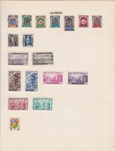 algeria stamps ref r8695