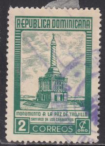 Dominican Republic 458 Peace of Trujillo Monument 1954