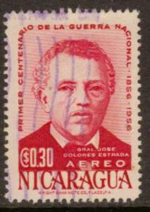 Nicaragua   #C367  used  (1956)