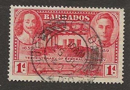 Nickel Auction. Barbados 203 u [ca03]