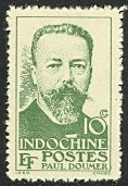 INDO-CHINA 1944 10c Paul Doumer Issue Sc 255 MNGAI