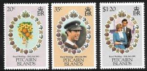 Pitcairn Island # 206 - 08 Mint Never Hinged