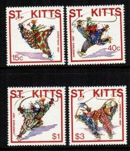 St Kitts  215 - 218  MNH $ 5.35