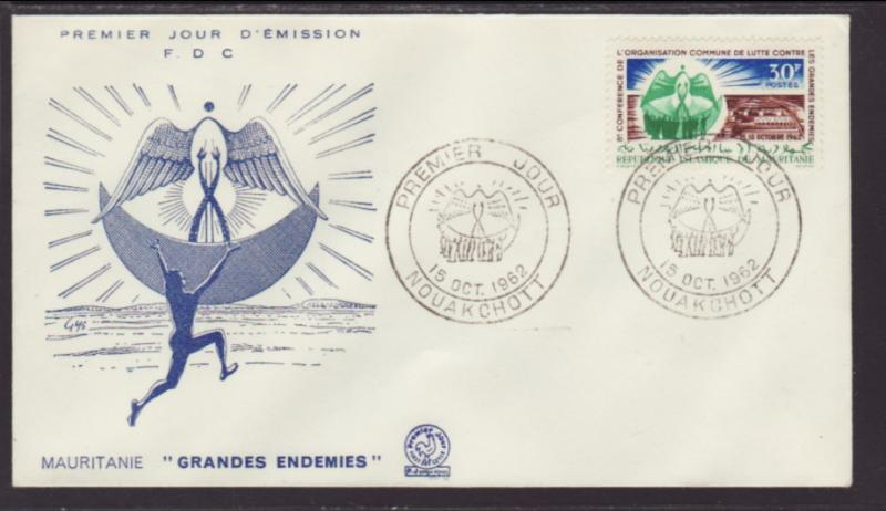 Mauritania 171 Conference 1962 FDC