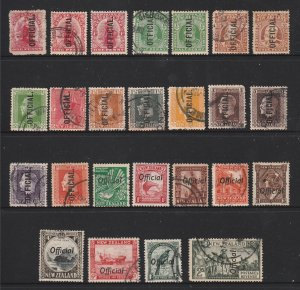 New Zealand a decent lot of pre 1940 Officials