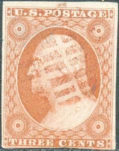 #10 VF USED WITH RED OPEN GRID CANCEL CV $210.00++ BP2004