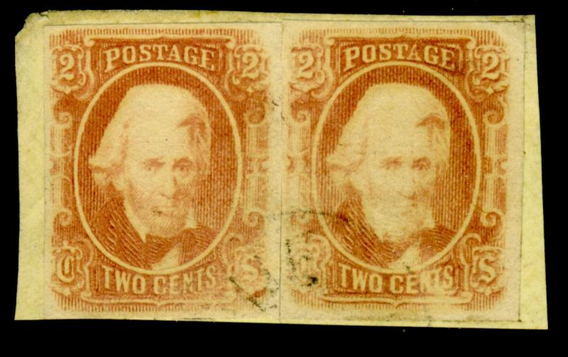 CSA #8 MINT Pair w fake cancel