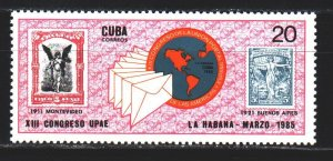 Cuba. 1985. 2926. Stamps on stamps. MNH.