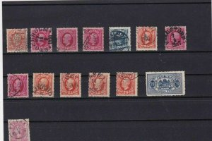 sweden early stamps ref r8784