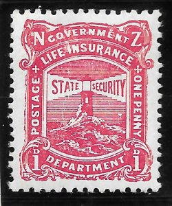 New Zealand OY25 Life Insurance Department 1946-47 MLH