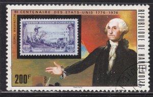 Burkina Faso 356 US 1003 and Washington 1976