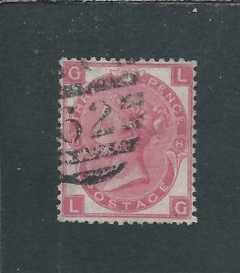 GB-QV 1867-80 3d ROSE PLATE 8 FU SG 103 CAT £60