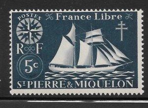 Saint Pierre and Miquelon Mint Never Hinged [4136]