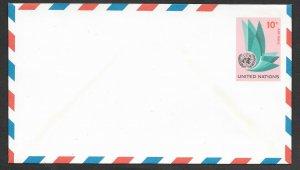 UN-NY # UC8  Envelope  - 10c   - Mint  (1)