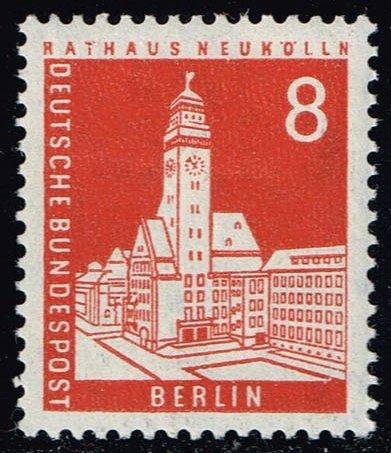 Germany #9N125 Neukoelin City Hall; Unused (0.30)