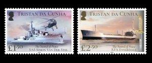 Stamps Ascension Island 2020-Tristan da Cunha-TDC SWORD OF PEACE-SET