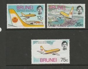 Brunei 1975 Royal Brunei Airlines LMM SG 241/3