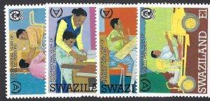 pb3440 Swaziland 567-70 MNH cv $2.95 bin $1.75