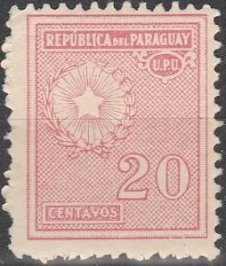 Paraguay #279   MNH F-VF (V178)