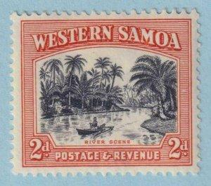 WESTERN SAMOA  168a 13.5X14  MINT HINGED OG * NO FAULTS EXTRA FINE!