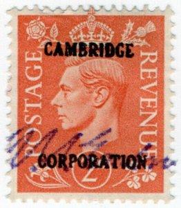 (I.B) George VI Commercial Overprint : Cambridge Corporation