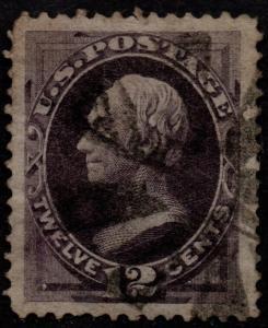 $US Sc#162 used, superb JUMBO, sm. perf issues, Cv. $135