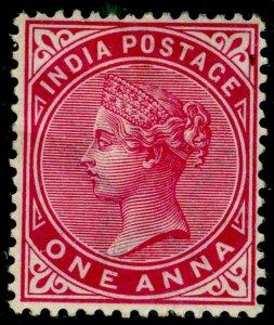 INDIA SG115, 1a carmine, M MINT.